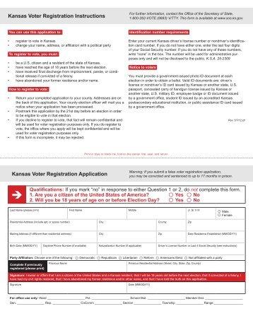 Montana Voter Registration Form - Long Distance Voter