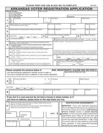 Montana Voter Registration Form  Long Distance Voter
