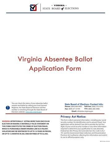 Montana Absentee Ballot Application - Long Distance Voter