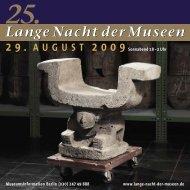25. Lange Nacht - Lange Nacht der Museen