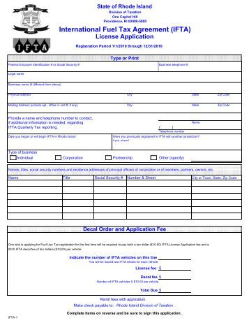 International fuel tax agreement ifta download pdf for Motor carrier permit renewal application