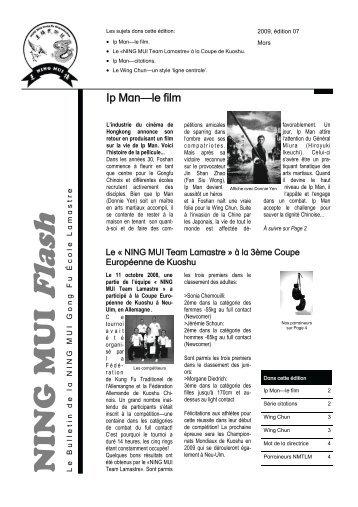 NING MUI Flash 2009-1 - Ning Mui Kung Fu Organisation