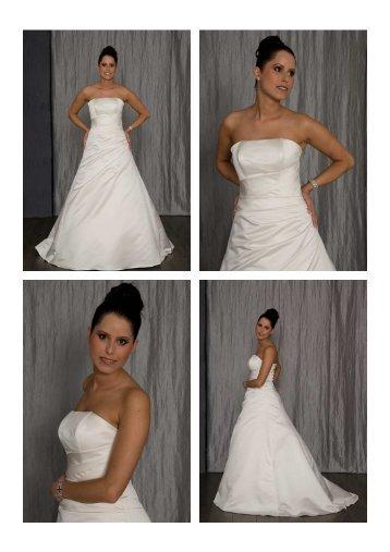 Brautkleid Modell 3700 - Nina Brautmoden
