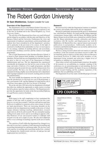 2008 scolag 247-248 - Scottish Legal Action Group