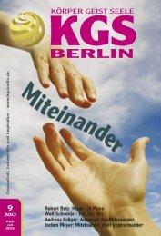 BERLIN - Veranstaltungskalender für Körper Geist und Seele