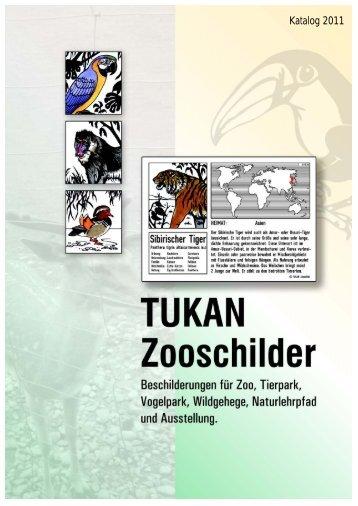 Katalog 2012/2013 - TUKAN-Zooschilder