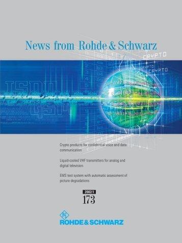 English - Rohde & Schwarz International