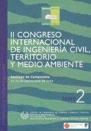 ii congreso internacional de ingenieria civil, territorio y medio ...