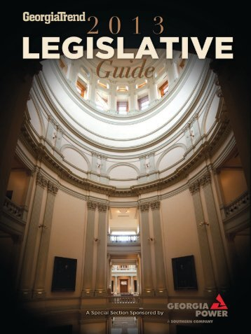 Legislative Guide - Georgia Trend Magazine