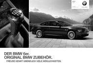 DER BMW 6er. ORIGINAL BMW ZUBEHÖR.