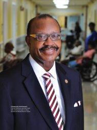 CEO of Atlanta's Sadie G. Mays Health and Rehabilitation Center