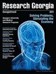 Solving Problems, Stimulating the Economy - Georgia Trend Magazine