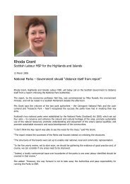 Rhoda Grant - Highlands and Islands Labour