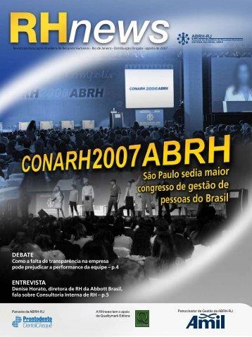 agosto - ABRH-RJ