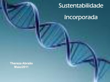 Sustentabilidade Incorporada - ABRH-RJ