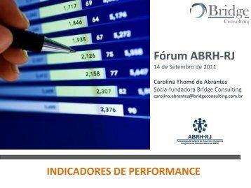 GESTÃO DE PROCESSOS DE NEGÓCIO (BPM) - ABRH-RJ