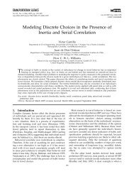 Modeling Discrete Choices in the Presence of ... - Cardiff University