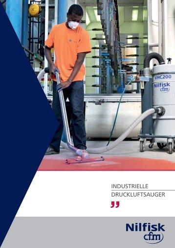 INDUSTRIELLE DRUCKLUFTSAUGER - Nilfisk-CFM