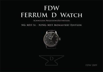 FDW FERRUM D Watch