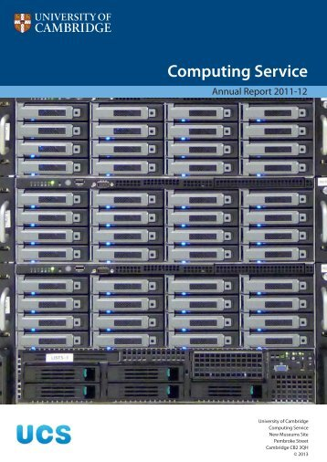 Review 2011-12 - University of Cambridge Computing Service