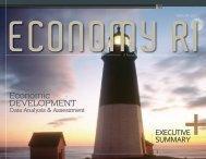 Economy RI - Rhode Island Economic Development Corporation