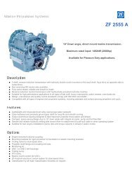 ZF 2555 A-Description - Used Diesel Engines | Detroit Diesel