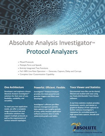 Investigator Overview Brochure - Email this page