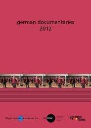 german documentaries 2012 (pdf - 7 mb)
