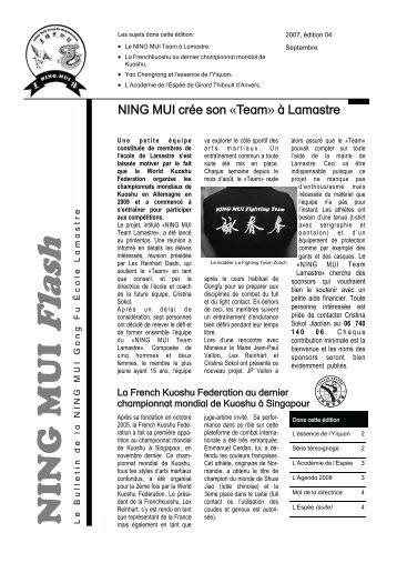 NING MUI Flash 2007-2 - Ning Mui Kung Fu Organisation