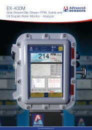 EX-400M Datasheet - Advanced Sensors