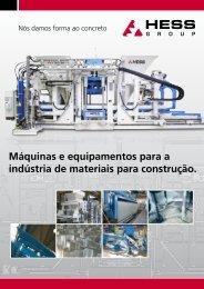 Máquinas e equipamentos para a indústria de ... - HESS Group