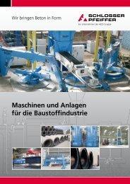 Maschinen und Anlagen für die Baustoffindustrie - HESS Group