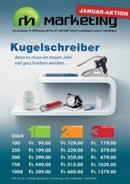 Tel. 071 385 4000 | info@rh-marketing.ch