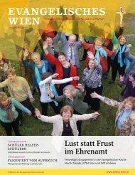 Ausgabe 01/2011 - Evangelische Kirche Wien