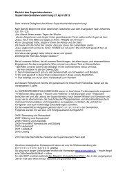 Bericht des Superintendenten - April 2012 - Evangelische Kirche Wien