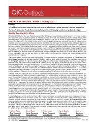 WEEKLY ECONOMIC BRIEF – 24 May 2013 Senior ... - LGsuper