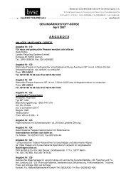 Sekundärrohstoff-Börse 07-04. April