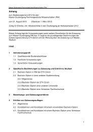Anforderungsprofil Master (PDf) - Studiengang Rechnergestützte ...