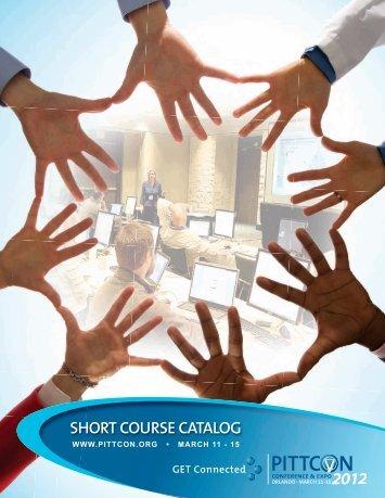 Short Course Catalog - ICRA