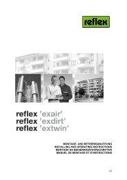 1/6 montage- und betriebsanleitung installing and operating ... - Reflex
