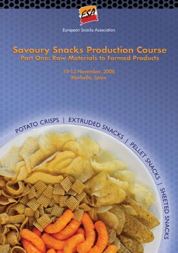 ESA Snack Production Course