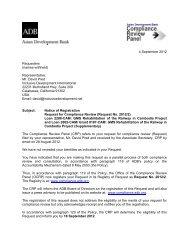 English - ADB Compliance Review Panel