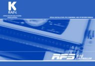K-Rain RPS616 Controller Owner's Manual - Irrigation Direct