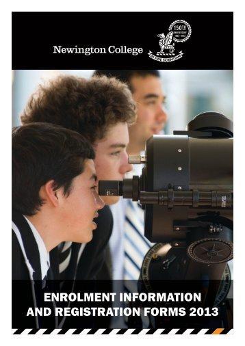 10_Admissions_Enrolment-Info_201... - Newington College