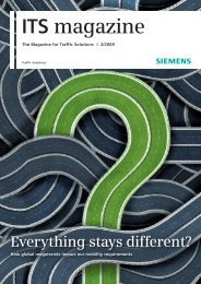 ITS magazine - Siemens Mobility