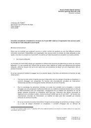 Service Public fédéral Intérieur Direction générale Sécurité civile ...