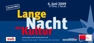 Fahrplan - Lange Nacht der Kultur Bremerhaven