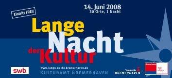 Aktuellen Flyer als PDF herunterladen - Lange Nacht der Kultur ...