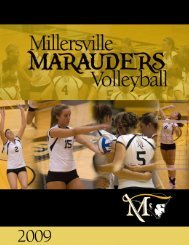 Media Guide - Millersville University Athletics
