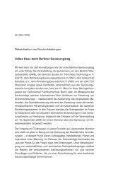1. Berliner Sanierungstag 2008 - Berliner Sanierungstage
